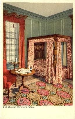 Governer's Palace - Williamsburg, Virginia VA Postcard