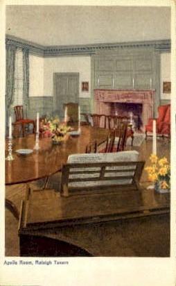 Raleigh Tavern - Williamsburg, Virginia VA Postcard
