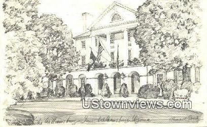 Williamsburg Inn - Virginia VA Postcard