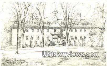 Wren Building  - Williamsburg, Virginia VA Postcard