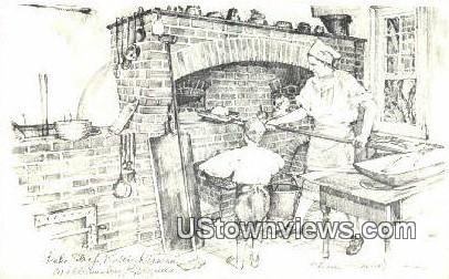 Raleigh Tavern Bake Shop - Williamsburg, Virginia VA Postcard