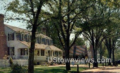 Christian Campbell'S Tavern - Williamsburg, Virginia VA Postcard