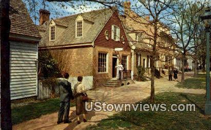 The Margarett Hunter Shop  - Williamsburg, Virginia VA Postcard