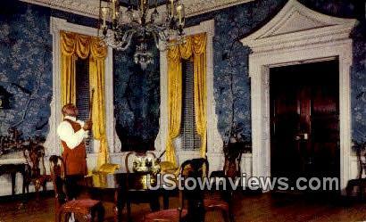 Supper Room Governors Palace - Williamsburg, Virginia VA Postcard