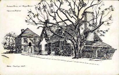 Custom House - Yorktown, Virginia VA Postcard