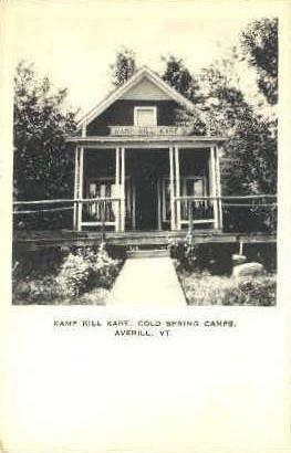Kamp Kill Kare - Averill, Vermont VT Postcard