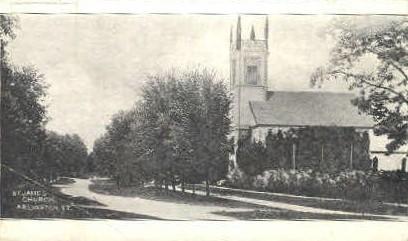 St. James Church - Arlington, Vermont VT Postcard