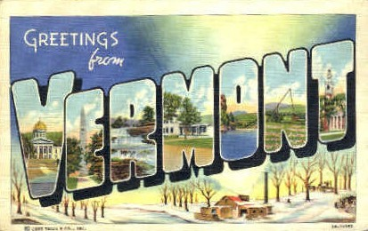 Greetings from Vermont - Misc Postcard