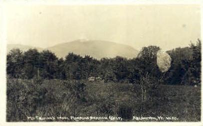Mount Equinox - Arlington, Vermont VT Postcard