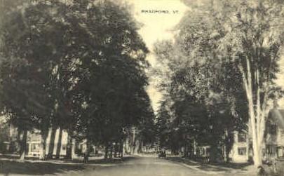 Bradford - Vermont VT Postcard