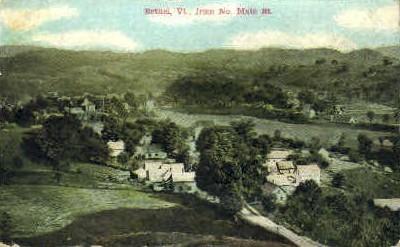 Main Street - Bethel, Vermont VT Postcard