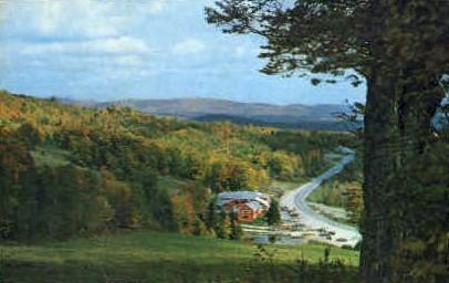 Bromley Mountain - Vermont VT Postcard
