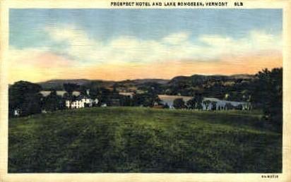 Prospect Hotel - Bomoseen, Vermont VT Postcard