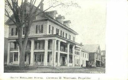 Royalron House - Misc, Vermont VT Postcard