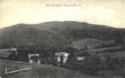 Mount Ascutney - Brownsville, Vermont VT Postcard