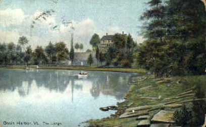 The Lodge - Basin Harbor, Vermont VT Postcard