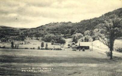 White River Valley - Bethel, Vermont VT Postcard