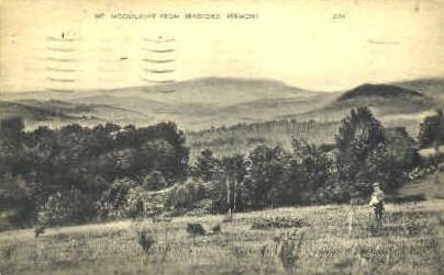 Mount Moosilauke - Bradford, Vermont VT Postcard