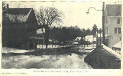 Washington's Birthday Thaw - Burke, Vermont VT Postcard