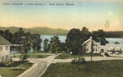 Harbor Homestead - Basin Harbor, Vermont VT Postcard