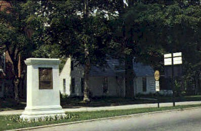 Stephen A. Douglas Birthplace - Brandon, Vermont VT Postcard