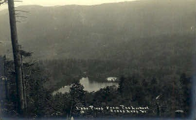 Real Photo - Lake Plead - Bread Loaf, Vermont VT Postcard