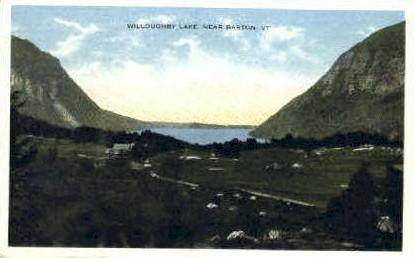 Willoughby Lake - Barton, Vermont VT Postcard