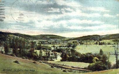 Barton River Valley - Vermont VT Postcard