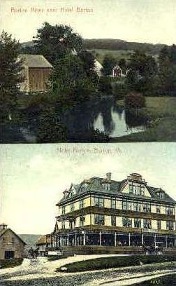 Hotel Barton - Vermont VT Postcard