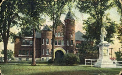 Spaulding School - Barre, Vermont VT Postcard