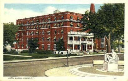 Hotel Barre - Vermont VT Postcard