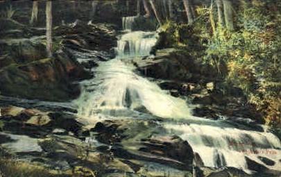 Benjamin's Falls - Barre, Vermont VT Postcard