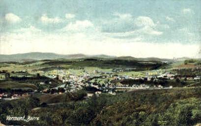 Barre, Vermont, VT Postcard