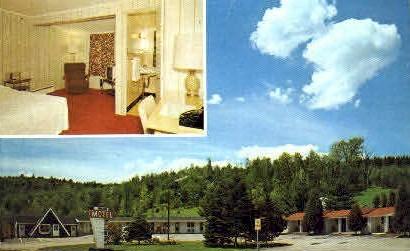 Twin City Motel - Barre, Vermont VT Postcard