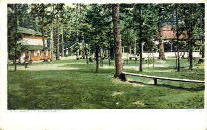 Barber Park - Bellows Falls, Vermont VT Postcard