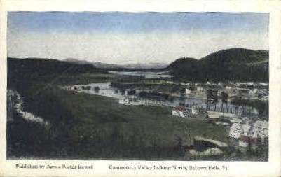 Connecticut Valley - Bellows Falls, Vermont VT Postcard