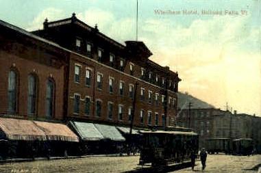 Windham Hotel - Bellows Falls, Vermont VT Postcard