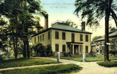 Residence of Hetty Green - Bellows Falls, Vermont VT Postcard
