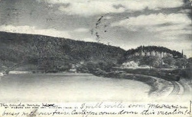 Mt. Kilburn & Pine Hill - Bellows Falls, Vermont VT Postcard