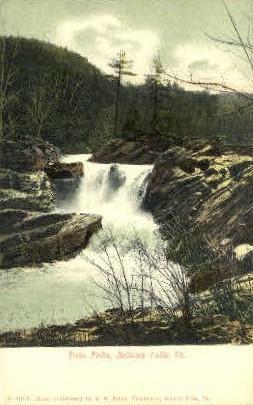 Twin Falls - Bellows Falls, Vermont VT Postcard