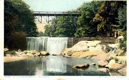 Westminster High Bridge - Bellows Falls, Vermont VT Postcard