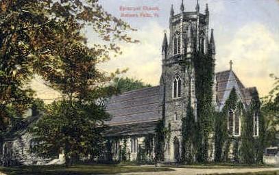 Episcopal Church - Bellows Falls, Vermont VT Postcard
