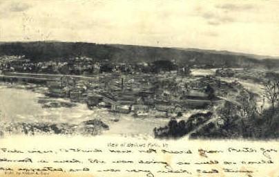 Bellows Falls, Vermont, VT Postcard