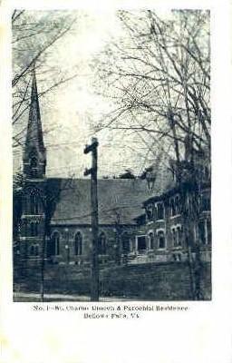 St. Charles Church - Bellows Falls, Vermont VT Postcard
