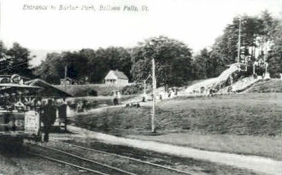 Reproduction - Bellows Falls, Vermont VT Postcard