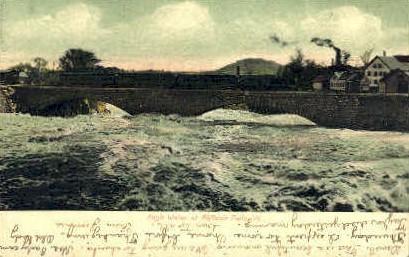 High Water - Bellows Falls, Vermont VT Postcard