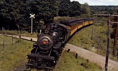 Steamtown U.S.A. - Bellows Falls, Vermont VT Postcard