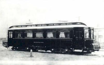 Reproduction - Trolley - Bennington, Vermont VT Postcard