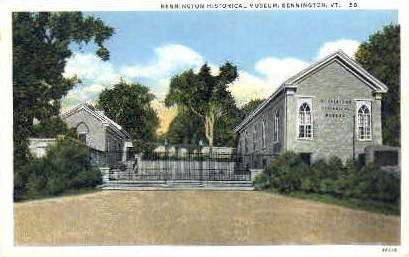 Bennington Museum - Vermont VT Postcard