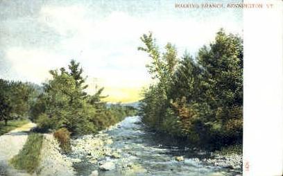Roaring Branch - Bennington, Vermont VT Postcard